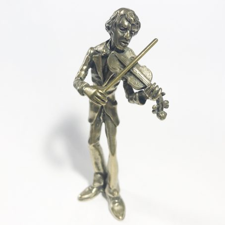 violinista in argento 800 made in Italy