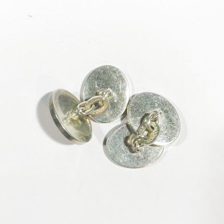 gemelli vintage Links of London in argento retro
