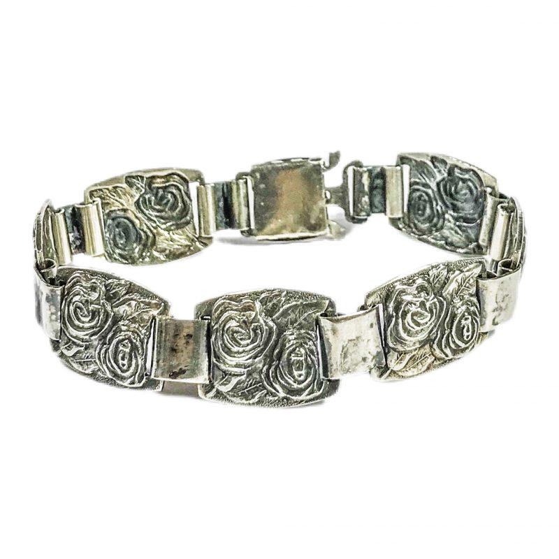 bracciale art deco in argento