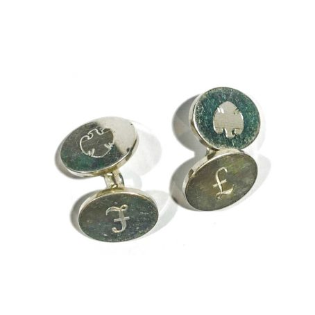 Links of London maison sterling silver cufflinks