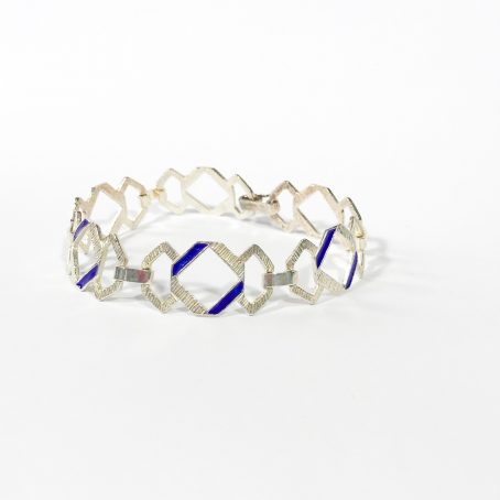 enamels modernist bracelet
