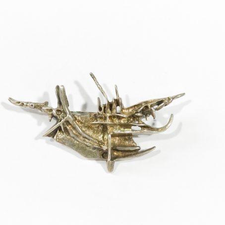 spilla della serie Tundra in argento di Frank & Regine Juhls