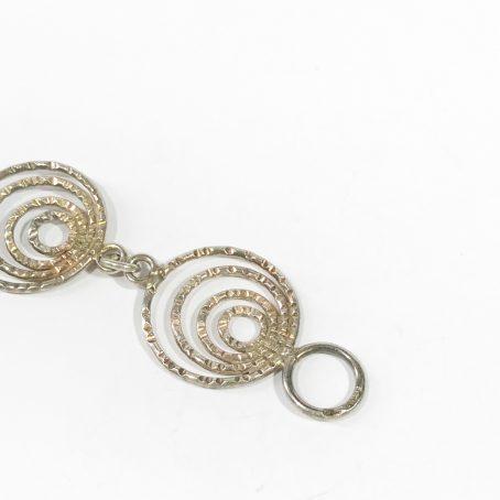 bracciale argento vintage dettagli