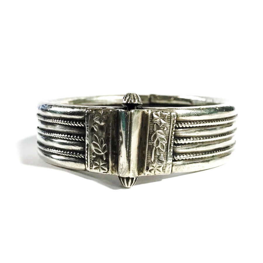 antique indian silver bracelet
