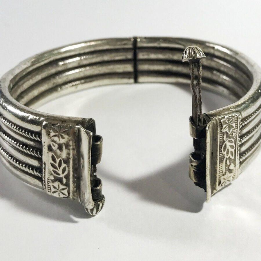 bracciale antico indiano argento